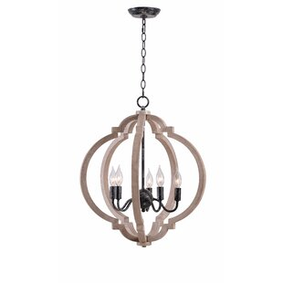 Briony 5-Light Lantern Chandelier by Grac..