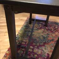 Millwood Pines Hamblen Solid Wood Desk Reviews Wayfair