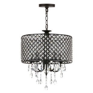 Enya 5-Light Crystal Chandelier