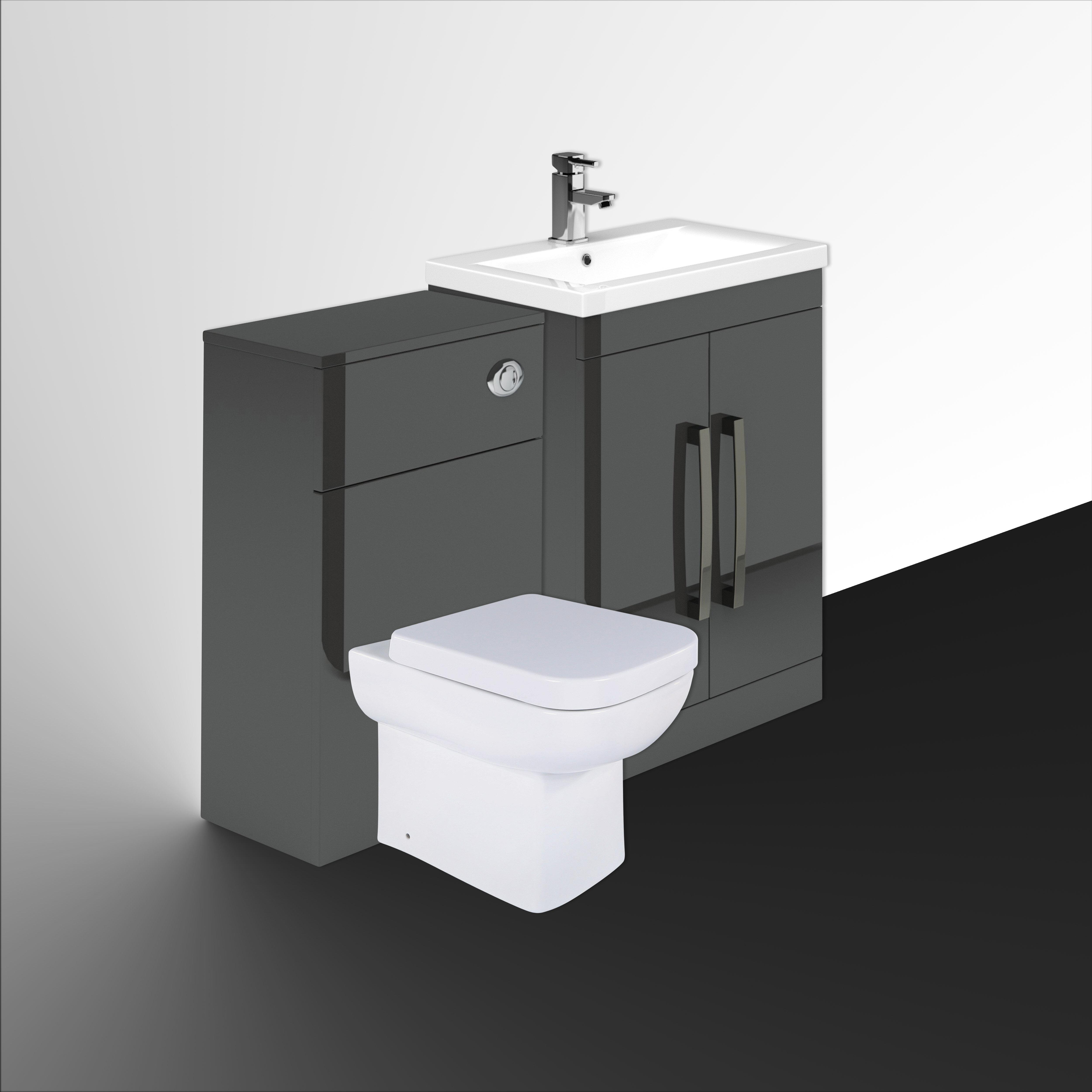 Aparicio 10mm Bathroom Furniture Suite