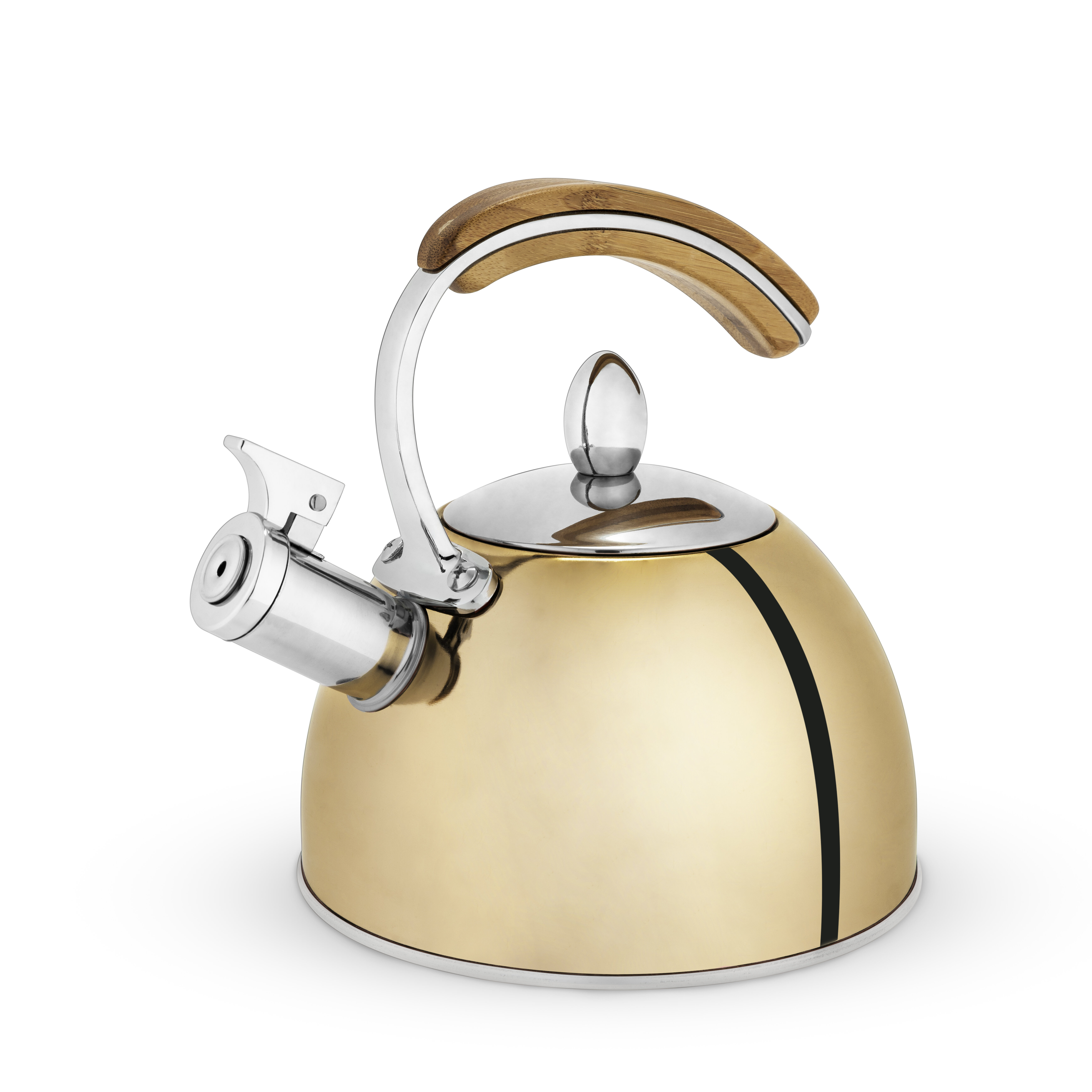 Pinky Up 2 18 Qt Presley Stainless Steel Whistling Stovetop Kettle Reviews