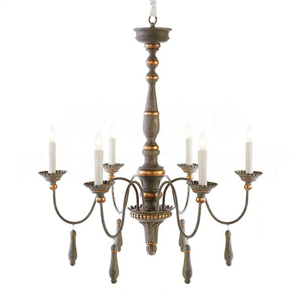 Agen Medium Candle-Style Chandelier