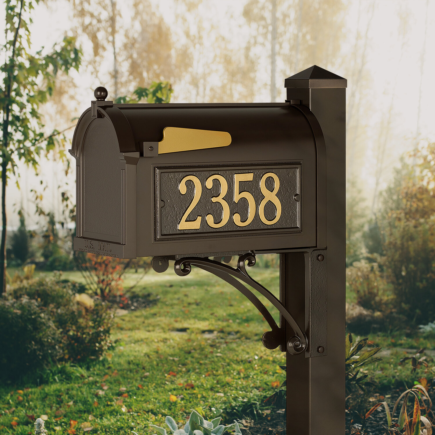 Aluminum Mailboxes You Ll Love In 2021 Wayfair