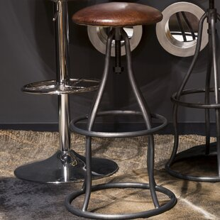 Calisto Adjustable Height Swivel Bar Stool