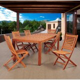 Twigg International Home Outdoor 7 Piece Dining Set