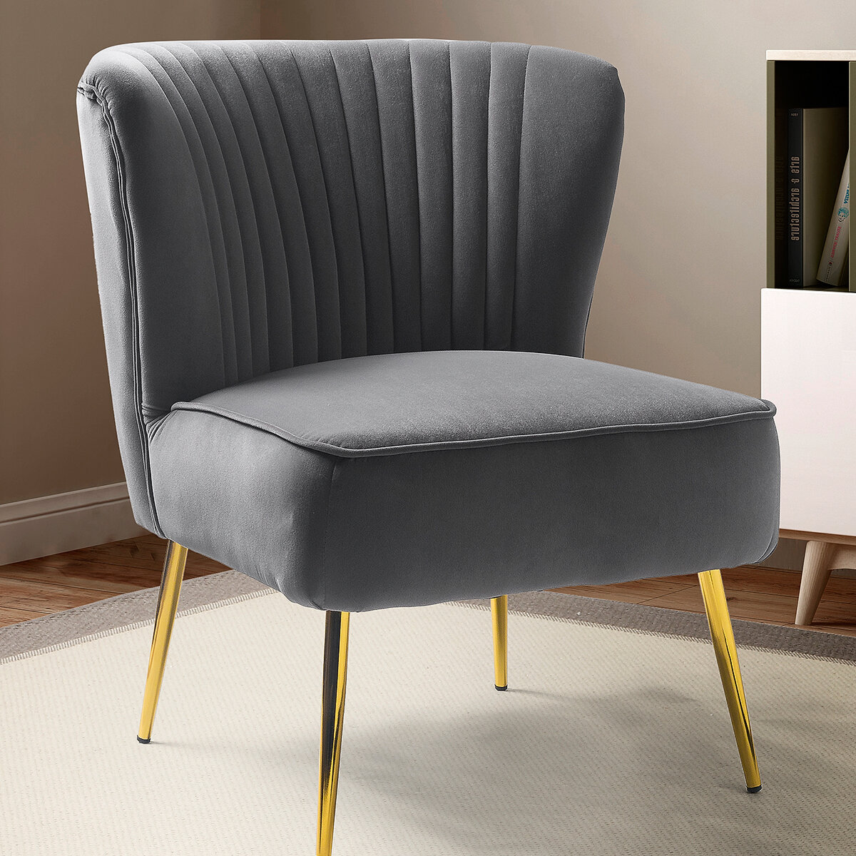 Grey Accent Chairs Free Shipping Over 35 Wayfair