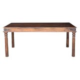 Ersin Solid Wood Dining Table by Bloomsbury Market