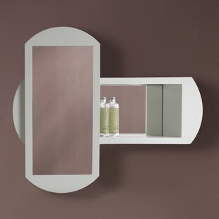 DECOLAV Gabrielle Abstract Accent Mirror