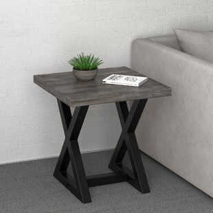 Union Rustic Bevin End Table