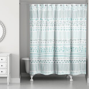 Check Prices Remus Boho Tribal Shower Curtain By Mistana
