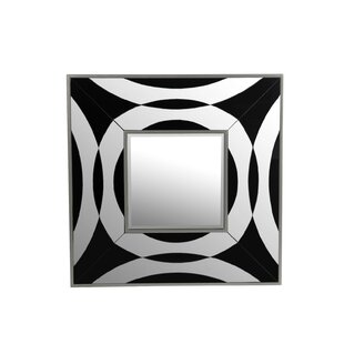 Latitude Run Venetia Square Bevel Wall Mirror