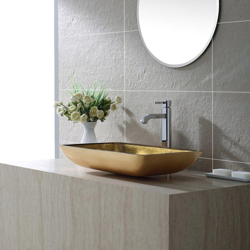 Bathroom Faucet For Vessel Sink kraus ramus single-handle vessel sink bathroom faucet & reviews