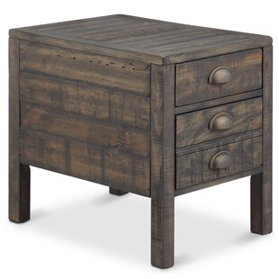 Claremont End Table by Gracie Oaks