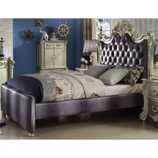 Landor Upholstered Panel Bed