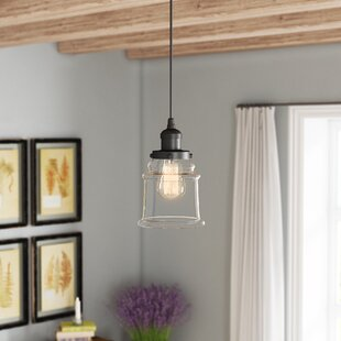 Greeley 1-Light Bell Pendant by Laurel Foundry Modern Farmhouse
