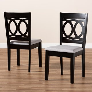 Ardzruni Upholstered Solid Wood Cross Back Dining Chair (Set of 2) by Winston Porter SKU:AE156742 Reviews