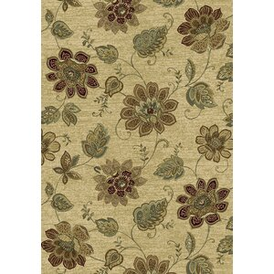 Ancient Garden Persian Beige Area Rug