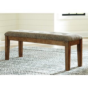 Fia Upholstered Bench by Millwood Pines