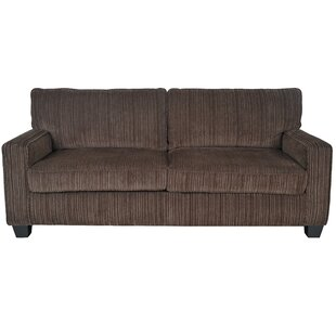 Palisades Microfiber 77 Square Arm Sofa