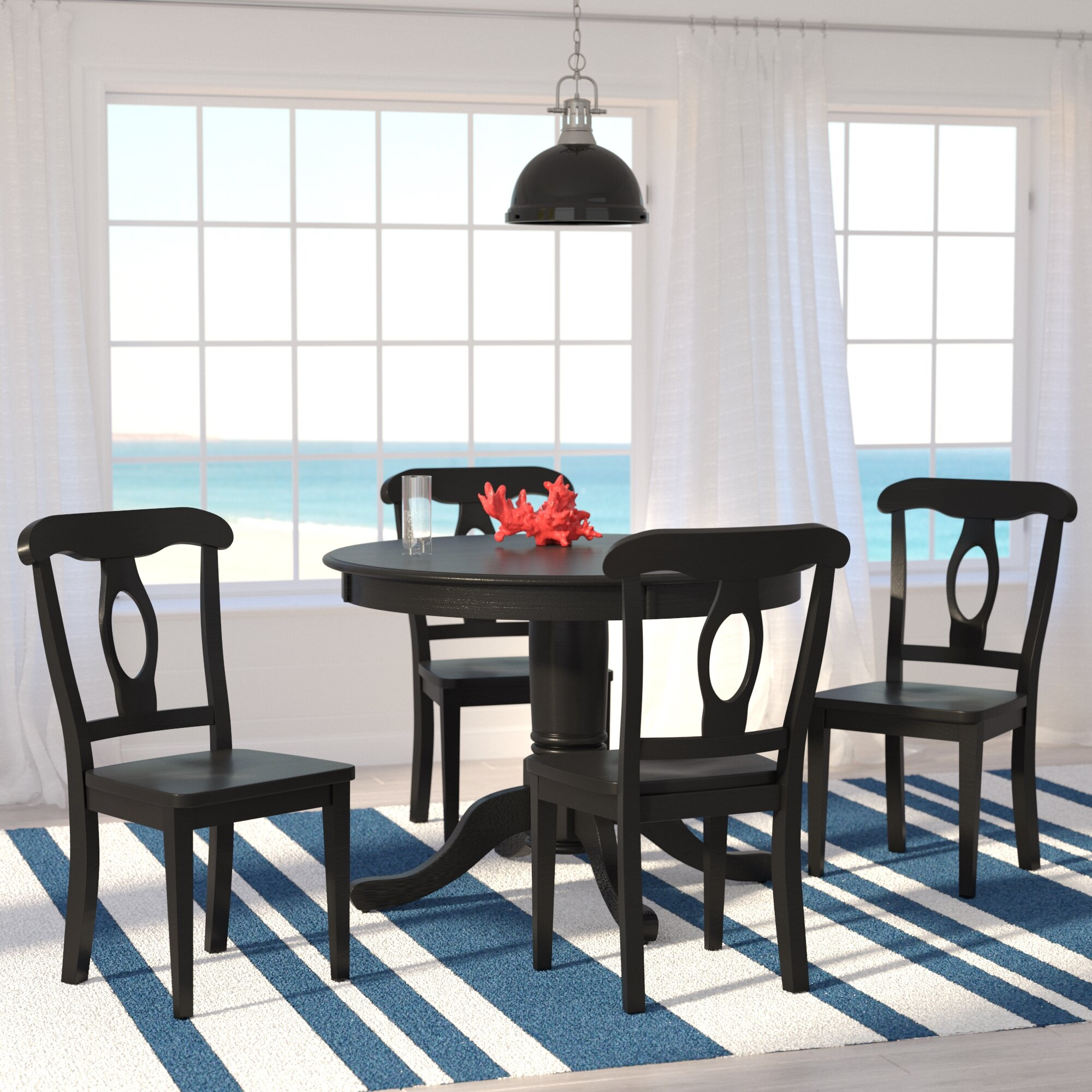 Beachcrest Home Gaskell Piece Dining Set Reviews Wayfair - Best place to buy dining room table