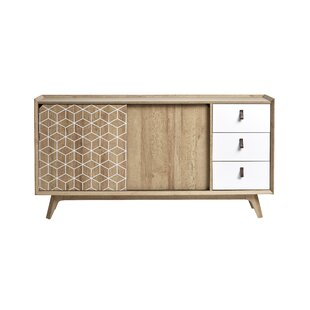 Dayana 3 Drawer Combi Chest By Isabelline
