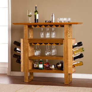 Wapanucka Bar with Wine Storage