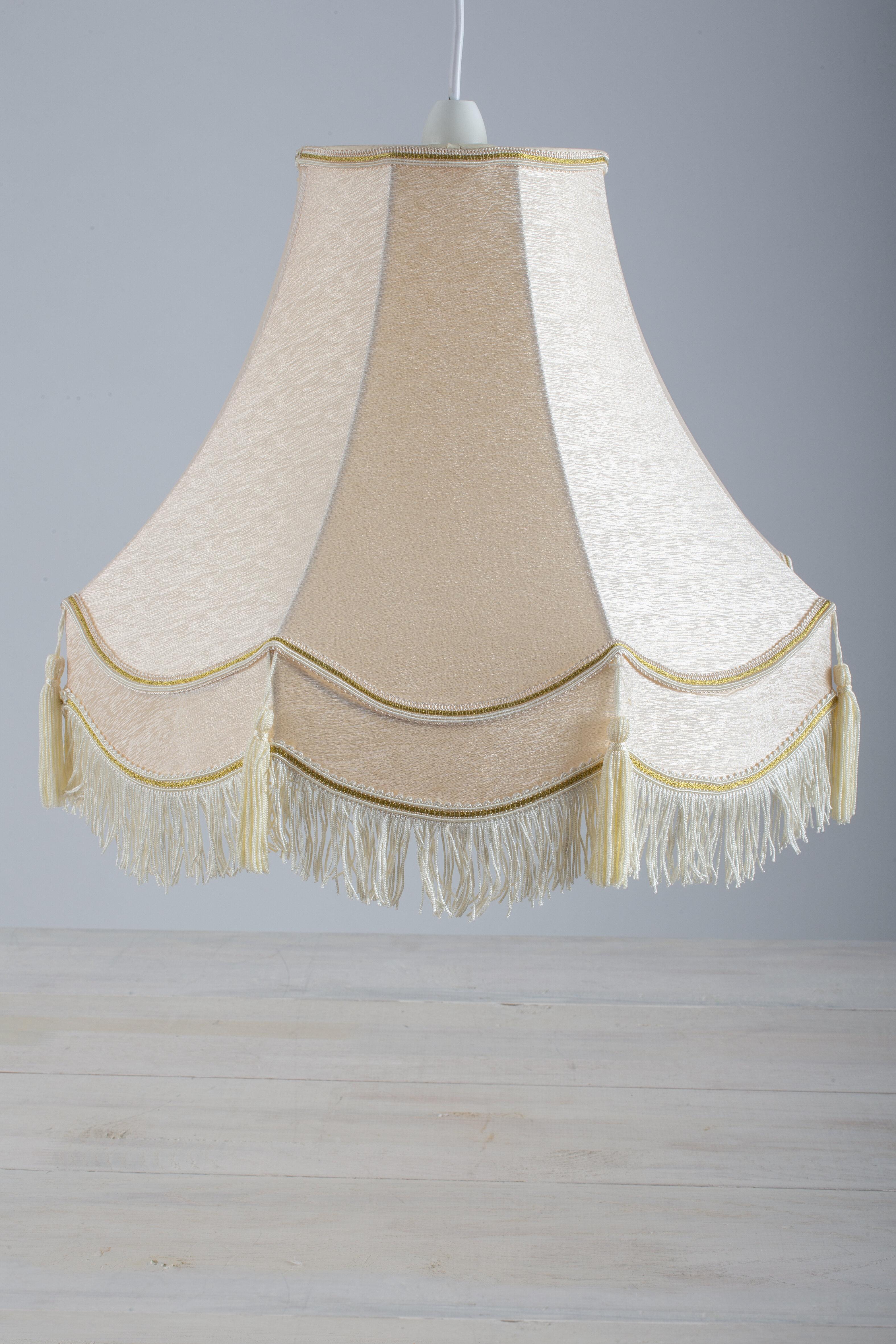 Lily Manor Hackett Classic 15 75cm Cotton Bell Pendant Shade Wayfair Co Uk