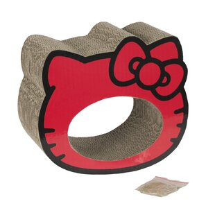 Hello Kitty Scratchtastic Scratching Post by Pet Brands