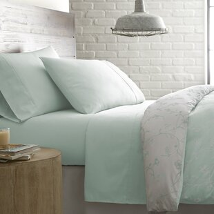 Shawnda Solid 300 Thread Count 100% Cotton Sheet Set