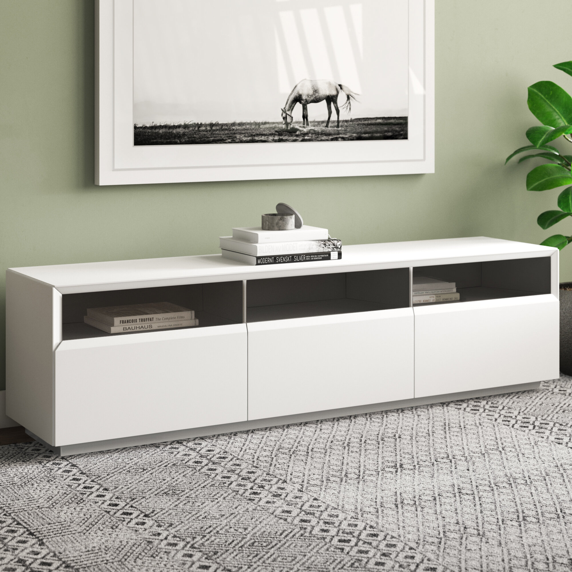 Ayden Tv Stand For Tvs Up To 78 Inches Reviews Allmodern