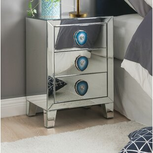 Elmira 3 Drawer Nightstand by Rosdorf Park