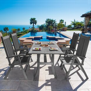 Darby Home Co Drees 5 Piece Dining Set