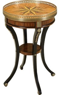 Vendome End Table with Tray