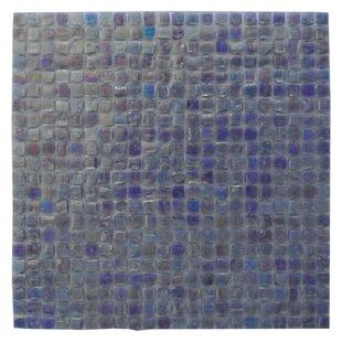 Abolos Green Mini Square 1 In X Recycled Gl Handmade Backsplash Bathroom Mosaic Wall Tile