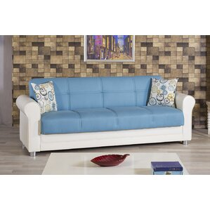 Avalon Futon Sleeper Sofa by Casamode Functional Furniture