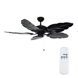 Ceiling fans remote control with lights wayfair 132cm florida 5 blade ceiling fan with remote control aloadofball Images