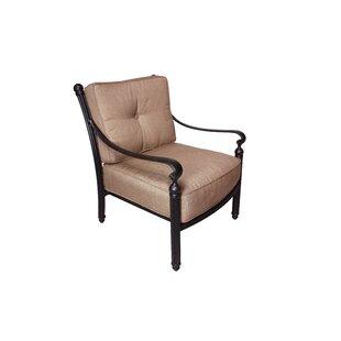 California Outdoor Designs Baldwin Deep Seating Club Chair with Sunbrella Cushions