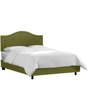 Brunella Upholstered Wood Frame Panel Bed