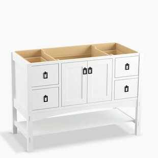Marabou? 48 Vanity with 2 Doors and 4 Drawers, Split Top Drawers by Kohler