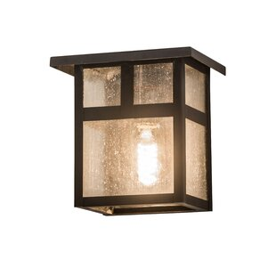 Alluvial Outdoor Flush Mount by Bloomsbur..