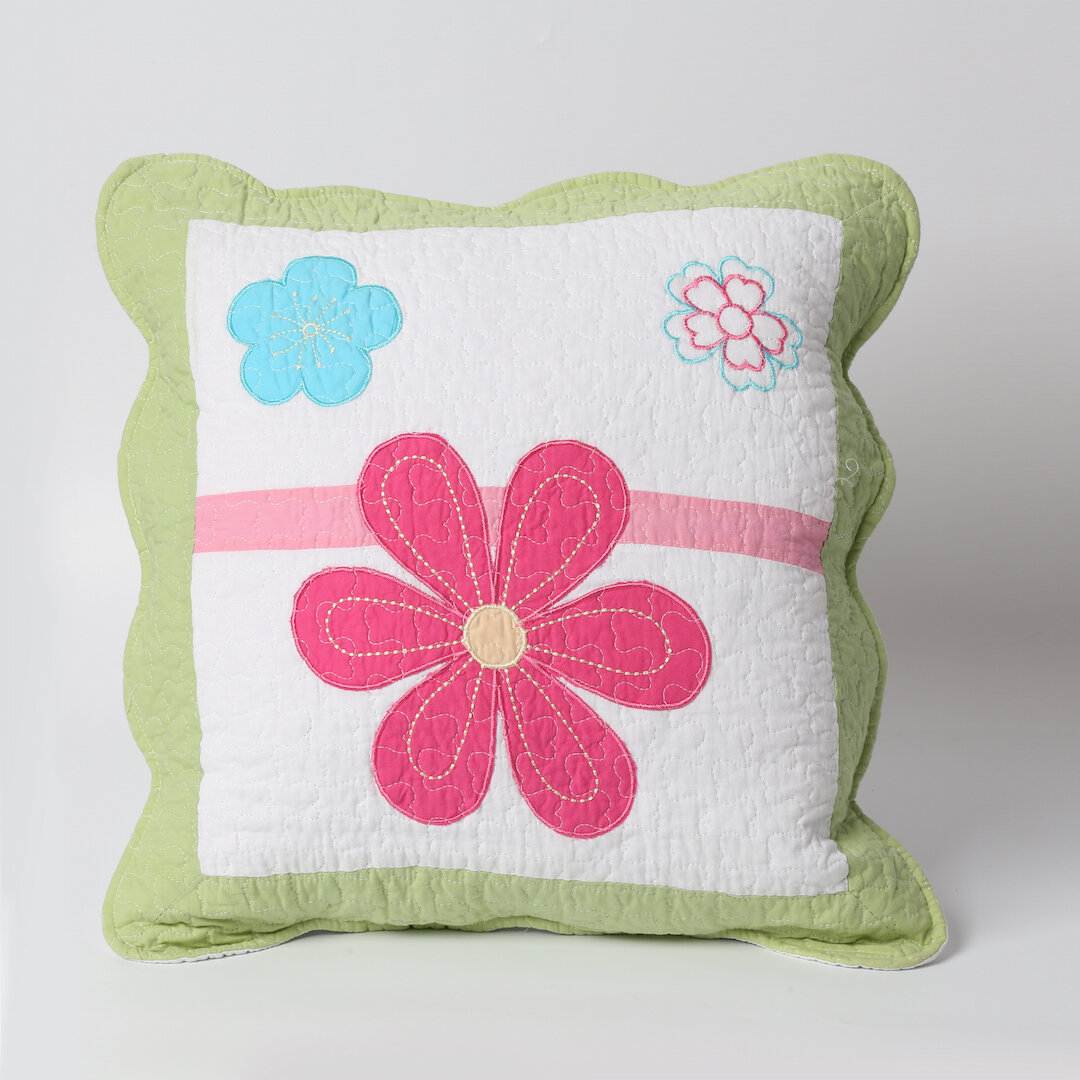 Cozy Line Home Fashion Spring Fling Flower Pillow Wayfair