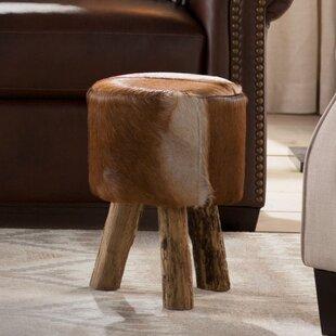 Awe Inspiring Nandamuri Hide Drum Stool Andrewgaddart Wooden Chair Designs For Living Room Andrewgaddartcom