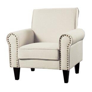 Ebner Upholstered Armchair by Charlton Home