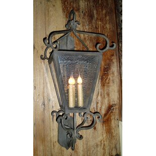 Graziano 3-Light Outdoor Wall Lantern by Fleur De Lis Living
