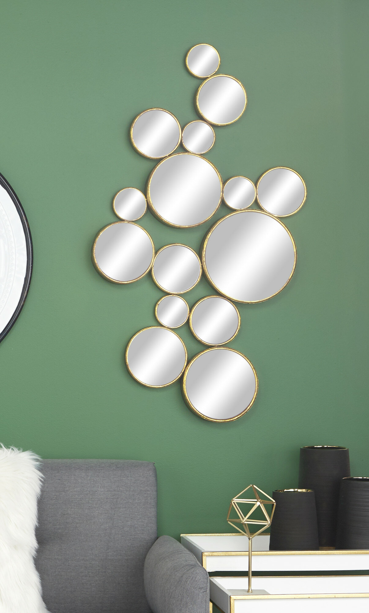 Wrought Studio Alondra Modern And Contemporary Distressed Accent Mirror Reviews Wayfair