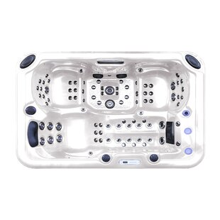 Tropic Spa Hurricane 3-Person 81-Jet Spa with LED Light