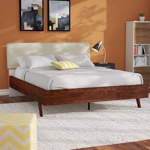Langley Street Trinity Queen Upholstered Platform Bed