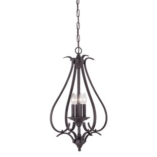 Affordable Corwin 4-Light Foyer Pendant By Andover Mills