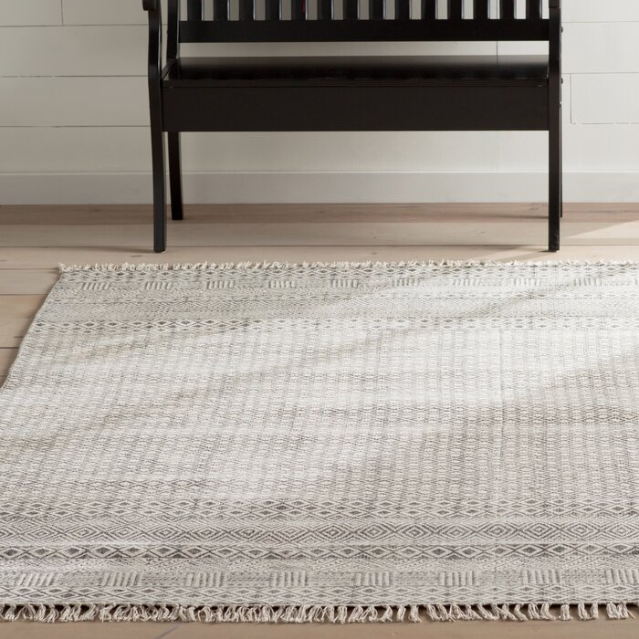 Oldtown Hand Woven Grey Area Rug