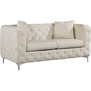 Comparison Maubray Chesterfield Loveseat by Mercer41 Reviews (2019) & Buyer's Guide